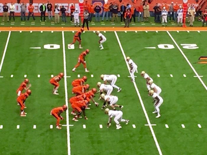 Zach Mahoney leads the Orange.