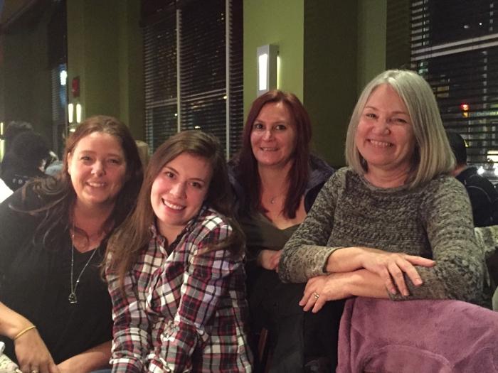 Michelle, Carolyn, Kris and my dear wife Karen.