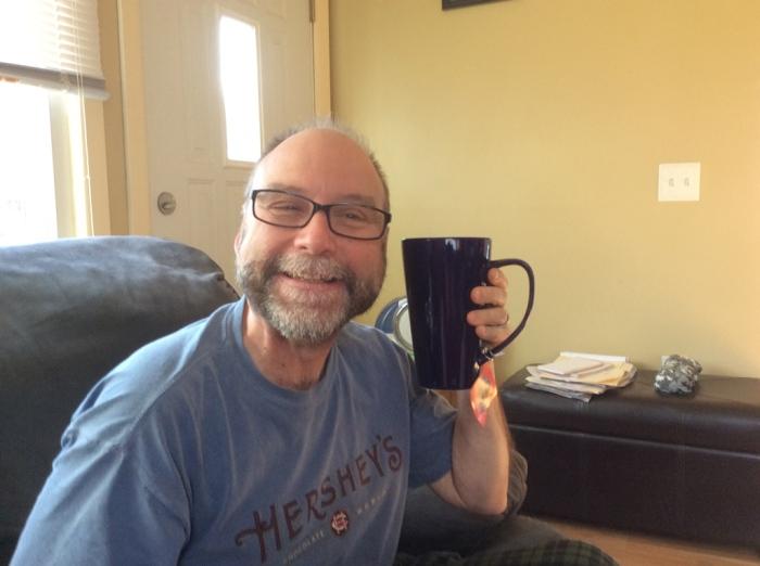 A new mug for me.