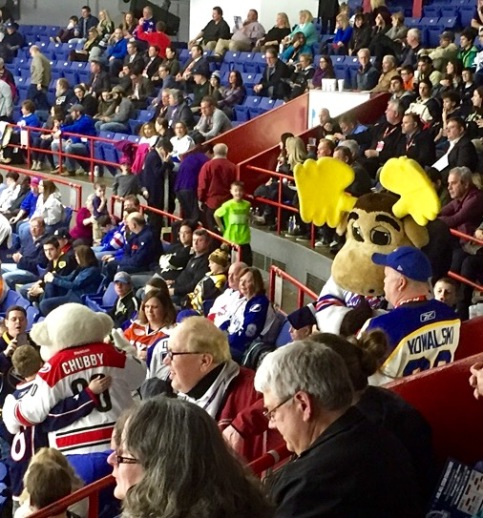 Moose and Chubby in the section.