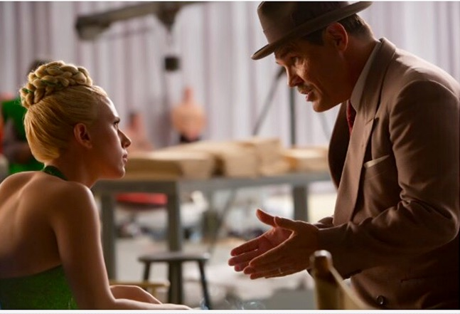 Scarlet Johansson and Josh Brolin in Hail, Caesar!