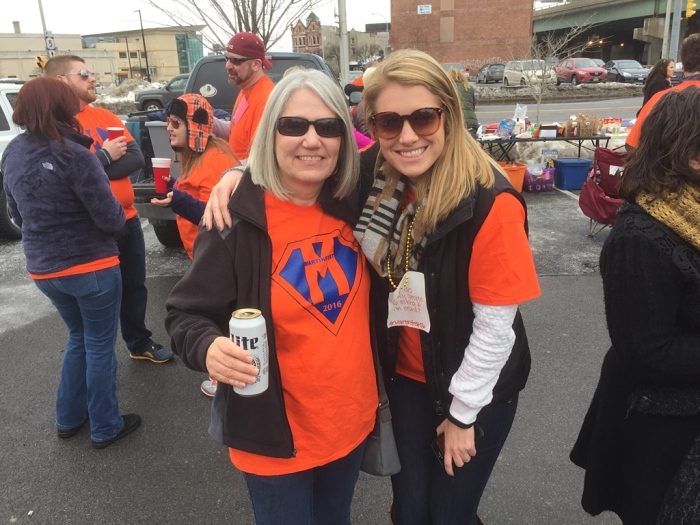 Karen and Kristy, up from Baltimore.