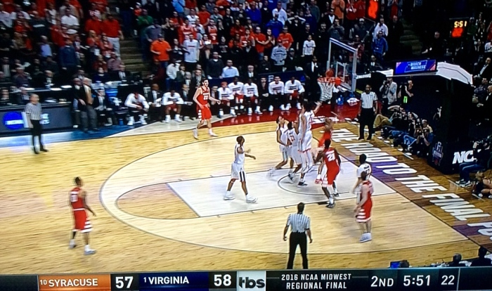 Go ahead, Syracuse. (From my wide-screen)