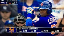 Cespedes, not for the rest of ya's.