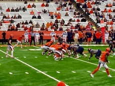 Eric Dungey thrilled Orange fans his freshman season at QB, when he wasn't concussed.