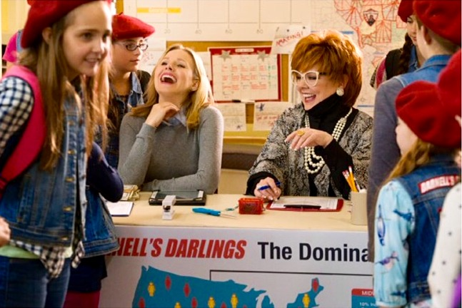 Kristen Bell and Melissa McCarthy in The Boss. (From IMDb.com)