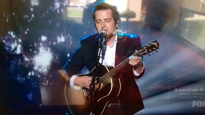 Oh, where did you go, Lee DeWyze? (From my wide-screen)