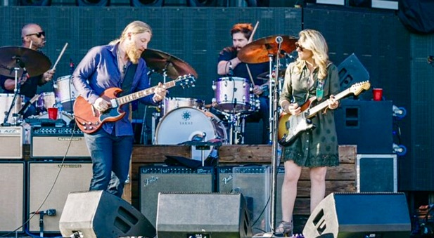 Coming to Syracuse on Tuesday, the Tedeschi Trucks Band. (Publicity Photo)