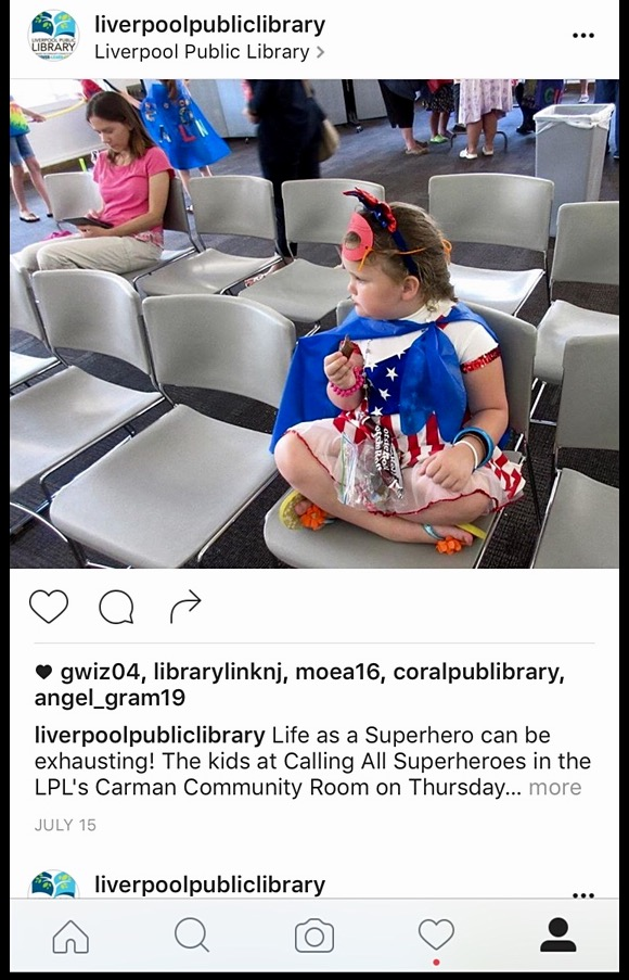 From LPL Instagram account/liverpoolpubliclibrary