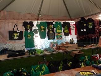 And merchandise.