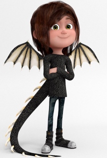 A dragon ...