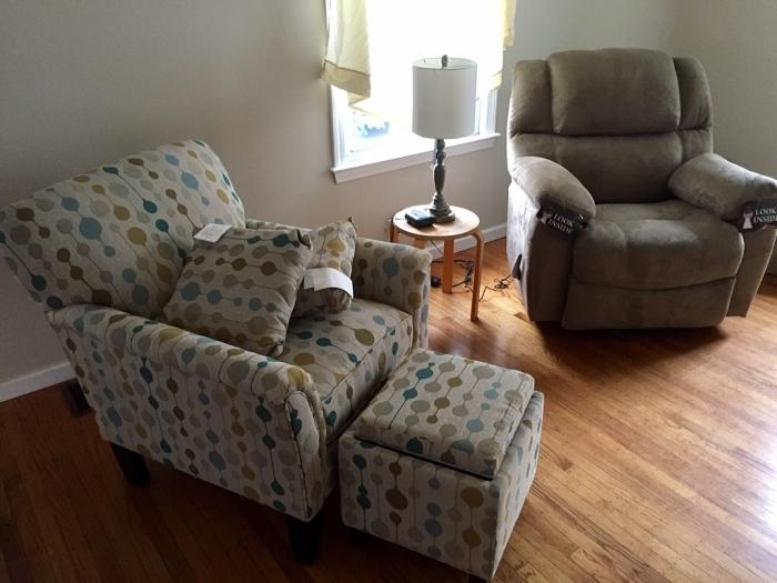 New living room stuff.
