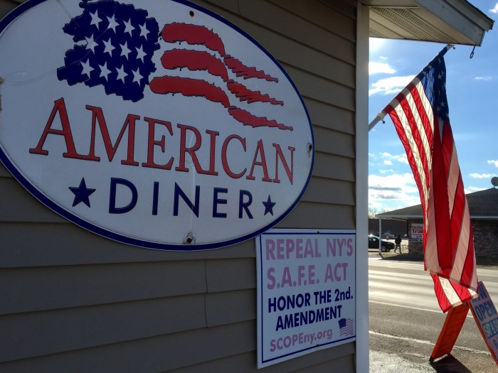 American Diner, proudly.