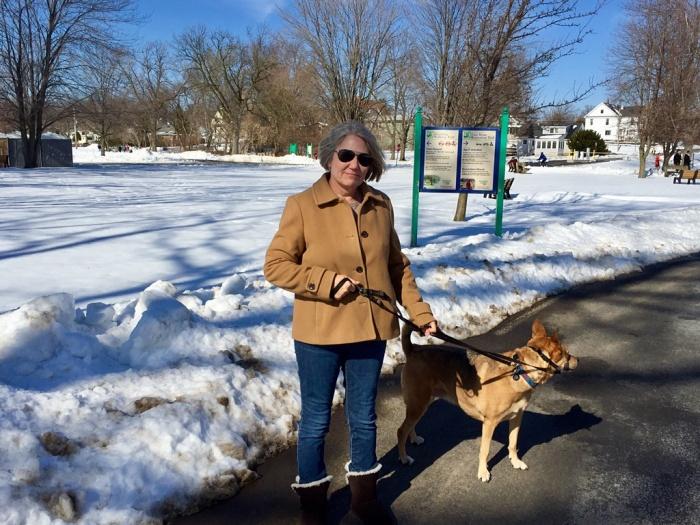 Happy dear wife Karen, satisfied Ellie B aka Dogamous Pyle.