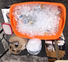 If you didn't bring an ice chest, don't fret.