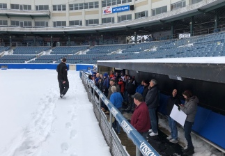 The Mets dugout!