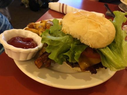 ... cheeseburger.