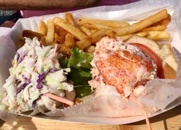 Plenty of lobster.