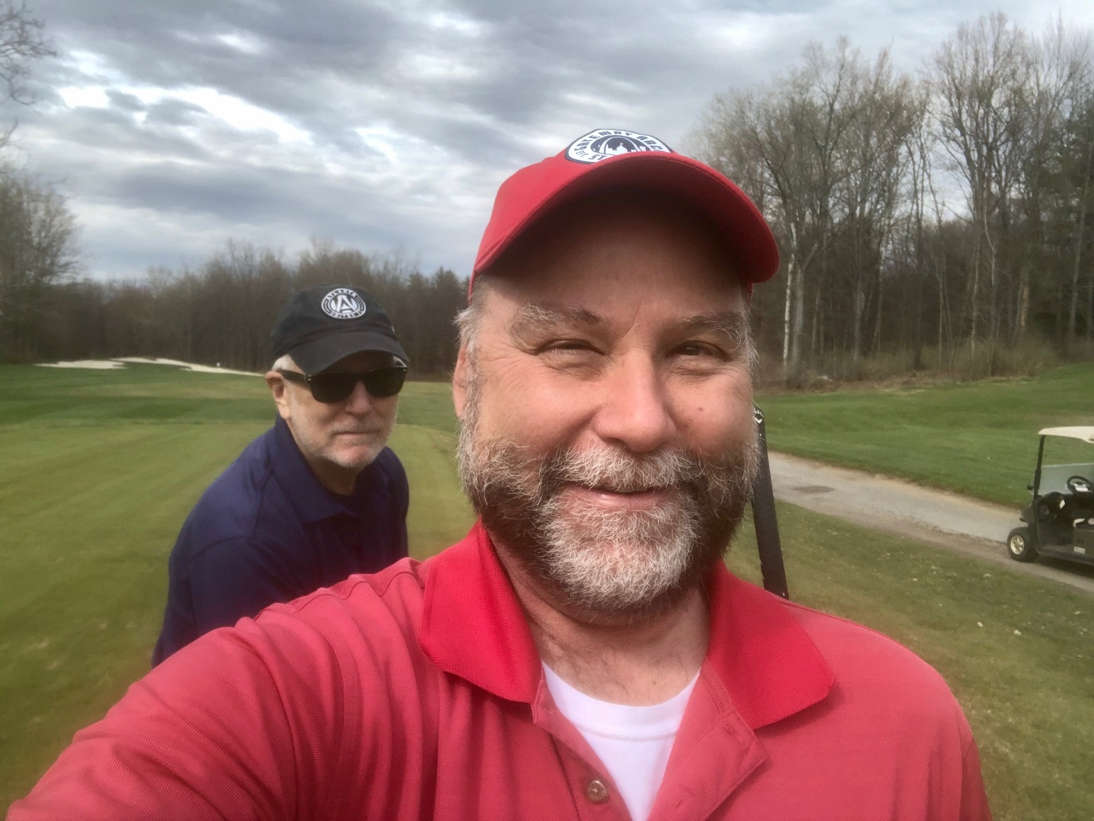 Golfing with KP